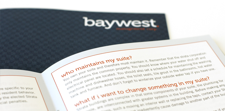 Baywest Management - brochures