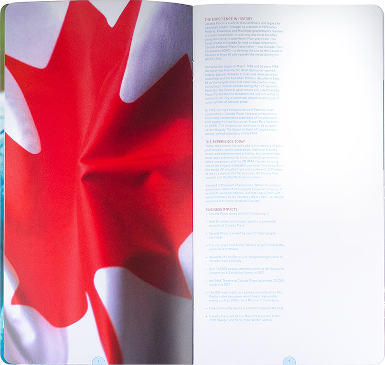Canada Place - annual report (interior)