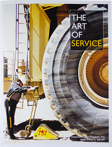 Finning International - annual report (cover)