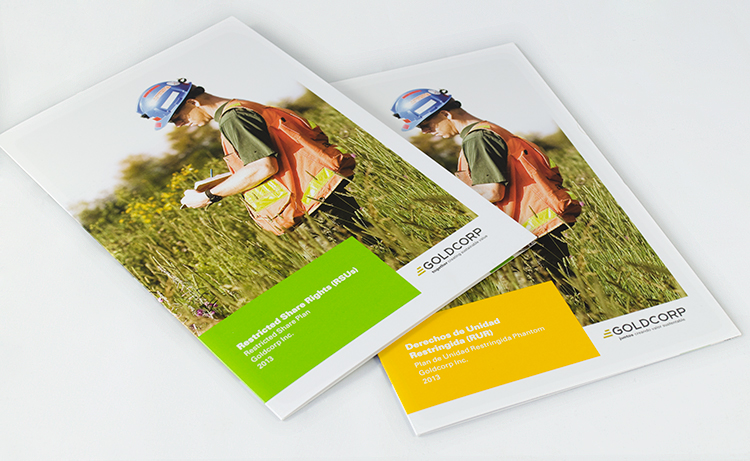 Goldcorp - brochures
