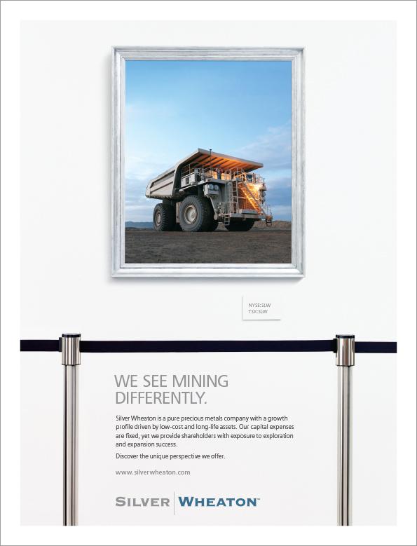 Silver Wheaton - print ad