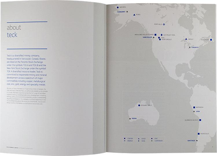 Teck - sustainability report (interior)